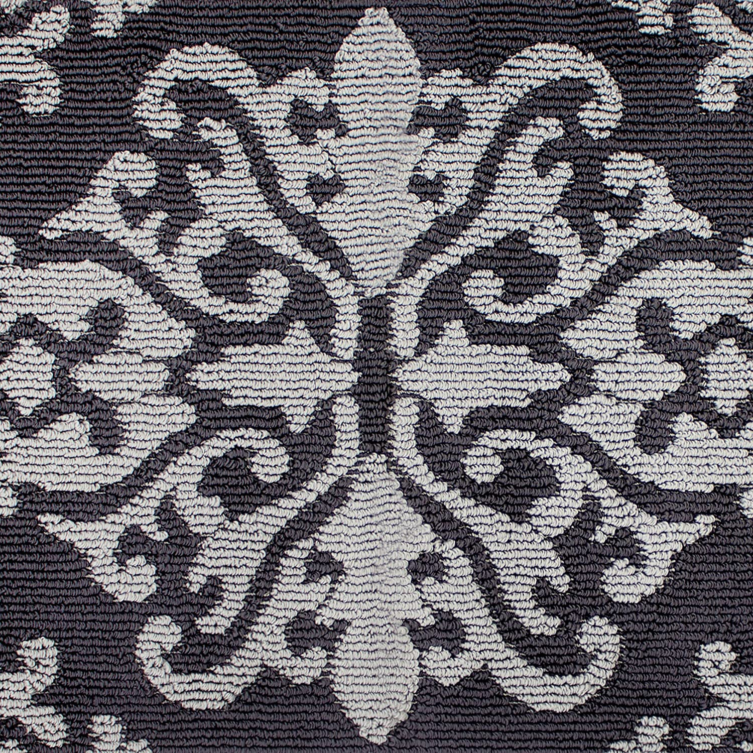 Jean Pierre New York Cole Loop Accent Rug 32 x 56 Gray