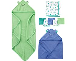 Simple Joys by Carter's Unisex 8-Piece Towel and Washcloth Set