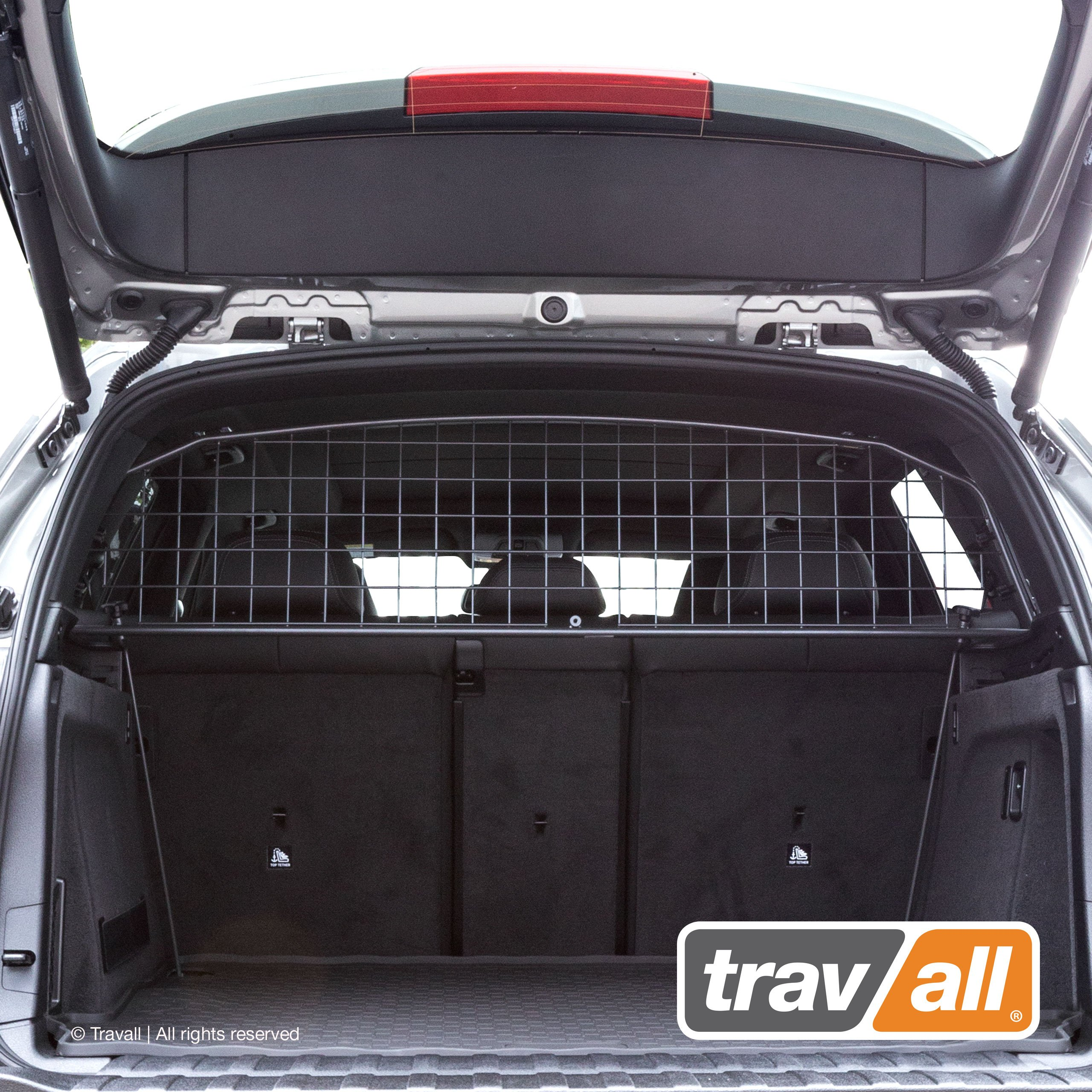 Travall Guard Compatible with BMW X5 (2006-2018) X5 M (2010-2018) TDG1166 - Rattle-Free Steel Pet Barrier by Travall