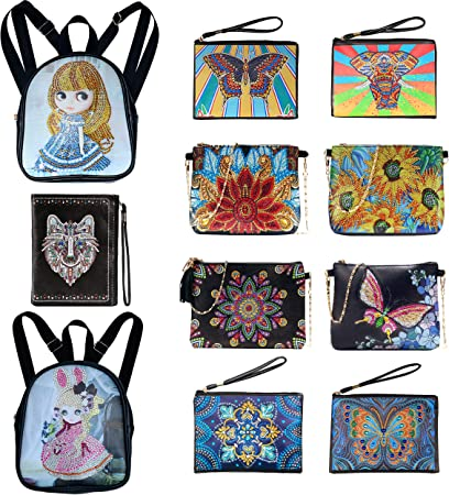 Paint Yourself Backpack By Kelleigh Jewelry Designs