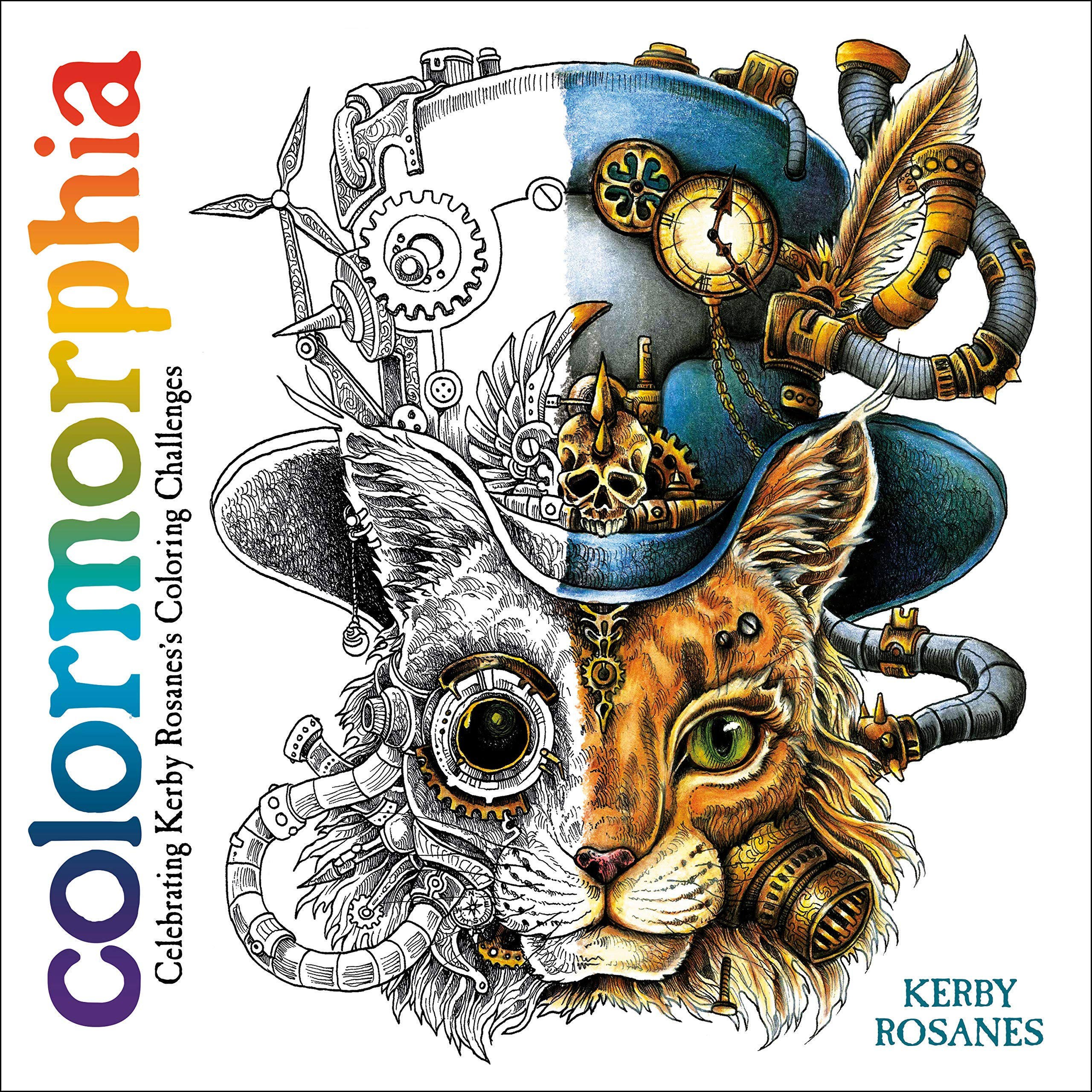 colormorphia celebrating kerby rosaness coloring challenges