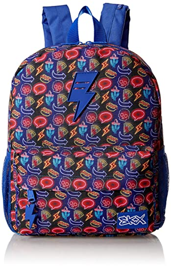 a3e8341a027 Skechers Girls' JV Kid's Backpack, Blue, Youth Size: Amazon.co.uk ...