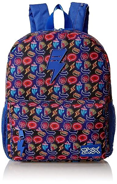 : Skechers Kids Girls' Little JV Backpack, Blue