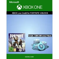 Xbox Live credit for Fortnite - 2.500 V-Bucks + 300 extra V-Bucks | Xbox One - Download Code