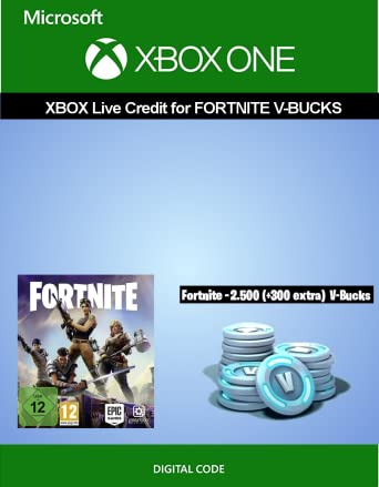 Xbox Live Credit For Fortnite 2 500 V Bucks 300 Extra V Bucks