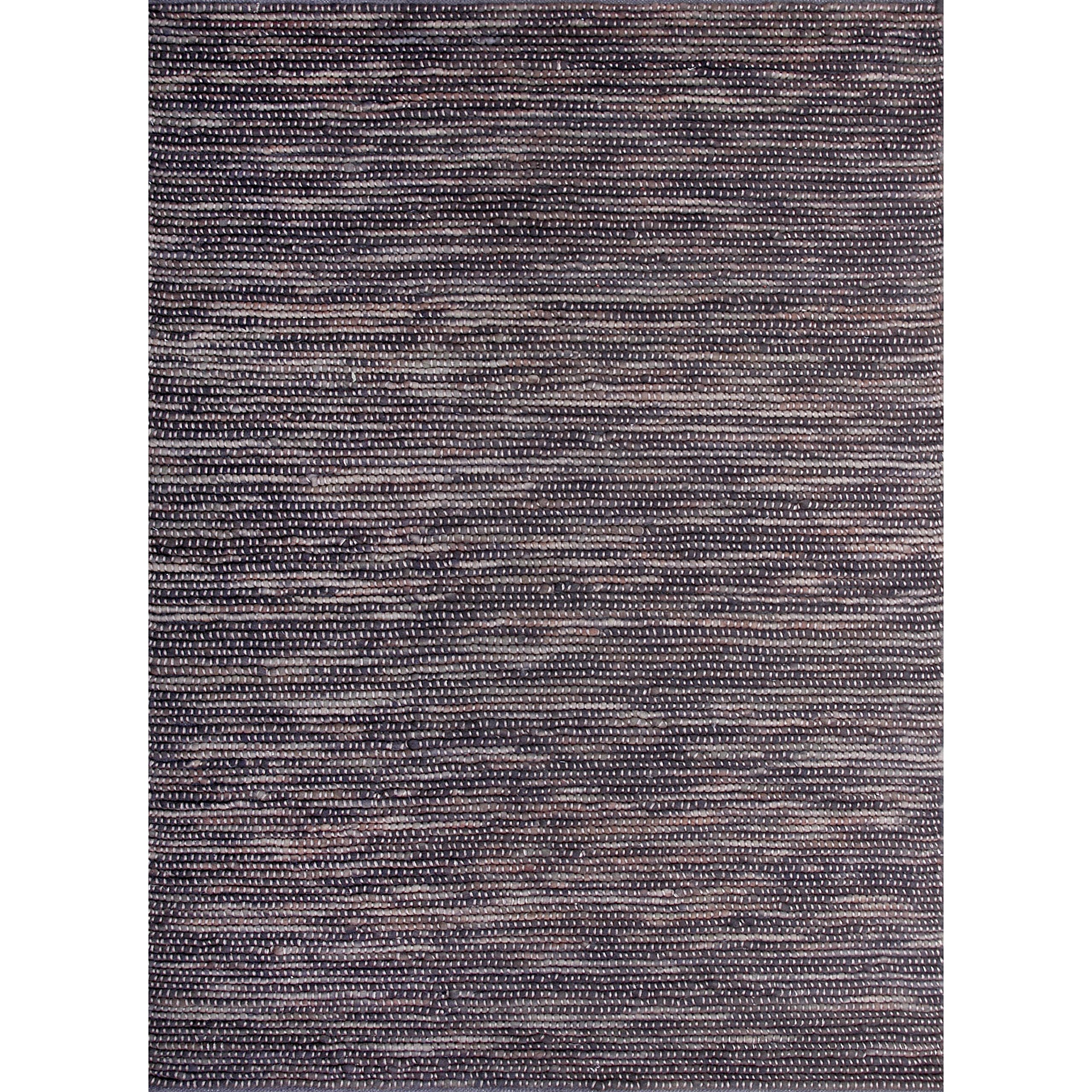 Alexander Home Hand-woven Thais Coconut Felted Wool Rug (3'6 x 5'6) by Alexander Home