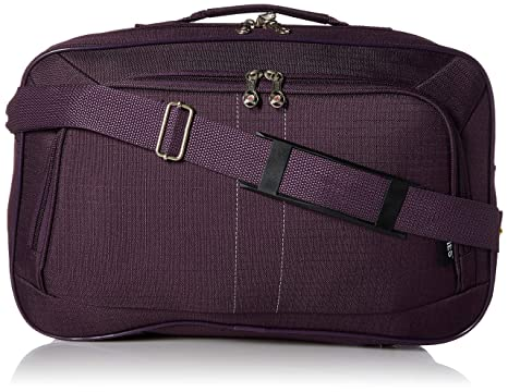 188230bdc646 16 Inch Carry On Hand Luggage Flight Duffle Bag, 2nd Bag or Underseat, 19L  (Plum)