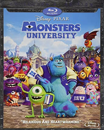Monsters University [USA] [Blu-ray]: Amazon.es: Cine y Series TV
