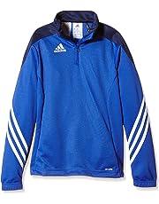 adidas Sere14 TRG To Y Sudadera, niño, Oscuro, Azul Marino y Blanco,