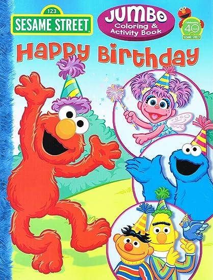 Amazon.com: 1 SESAME STREET HAPPY BIRTHDAY COLORING BOOK: Toys & Games