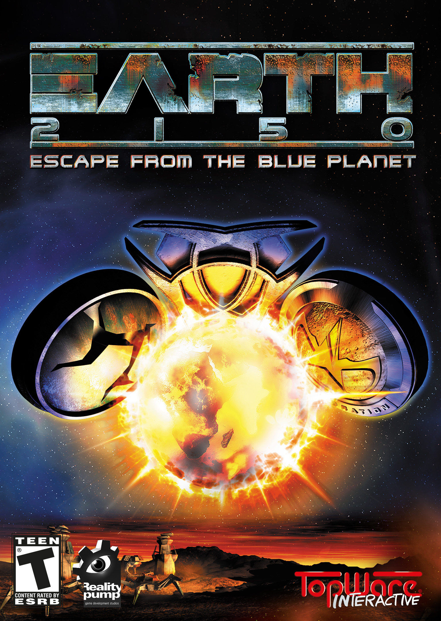 Tiberian Sun Pc Games - EARTH 2150 - Escape from the Blue Planet [Steam]