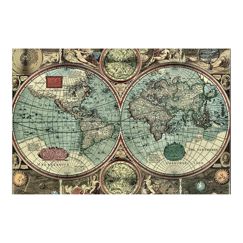 Vliestapete – Die alte Welt – Wandbild breit