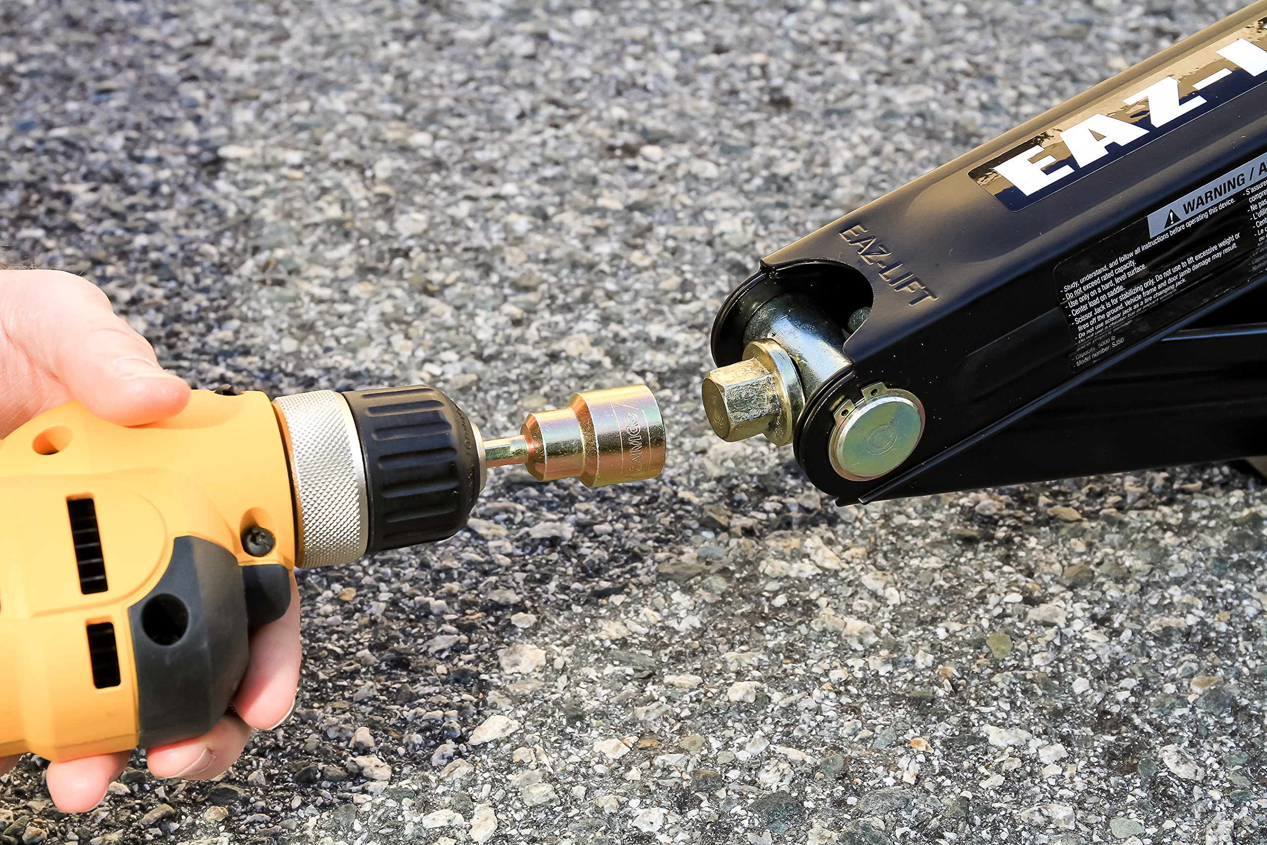 New Camco Best Rv Leveling Scissor Jack Socket Drill Adapter Fits Power Drills Ushirika Coop