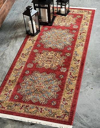 Amazon Com Unique Loom Sahand Collection Traditional Geometric