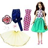 Barbie - Muñeca, moda mezcla y combina (Mattel DJW59)