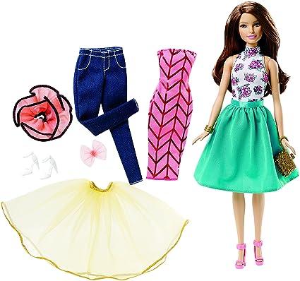 Barbie Fashion Mix n Match Doll - Blue  Amazon.co.uk  Toys   Games 8a2d9a63cebc