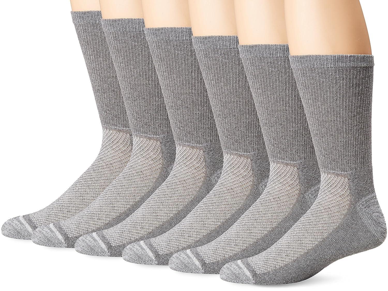 Hanes Ultimate Men's 6-Pack X-Temp Crew Socks