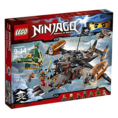 LEGO Ninjago Misfortune's Keep 70605: Toys & Games