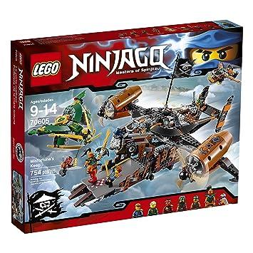 Amazon.com: LEGO Ninjago Misfortune's Keep 70605: Toys & Games