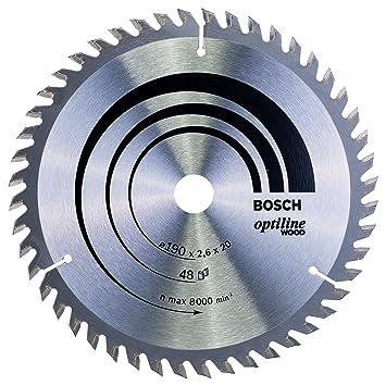 879331377d96dc Bosch 2608640614 Lame de scie circulaire Optiline Wood 190 x 20 16 x ...