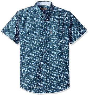 d7871023a6e422 Amazon.com: Ben Sherman Men's Ss Ditsy Flrl PRNT Shirt: Clothing