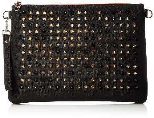 aeb9924ed225 DIAVEL(ディアベル) ショルダーバッグ スタッズバッグ ブラック×レッド×ミックススタッズ