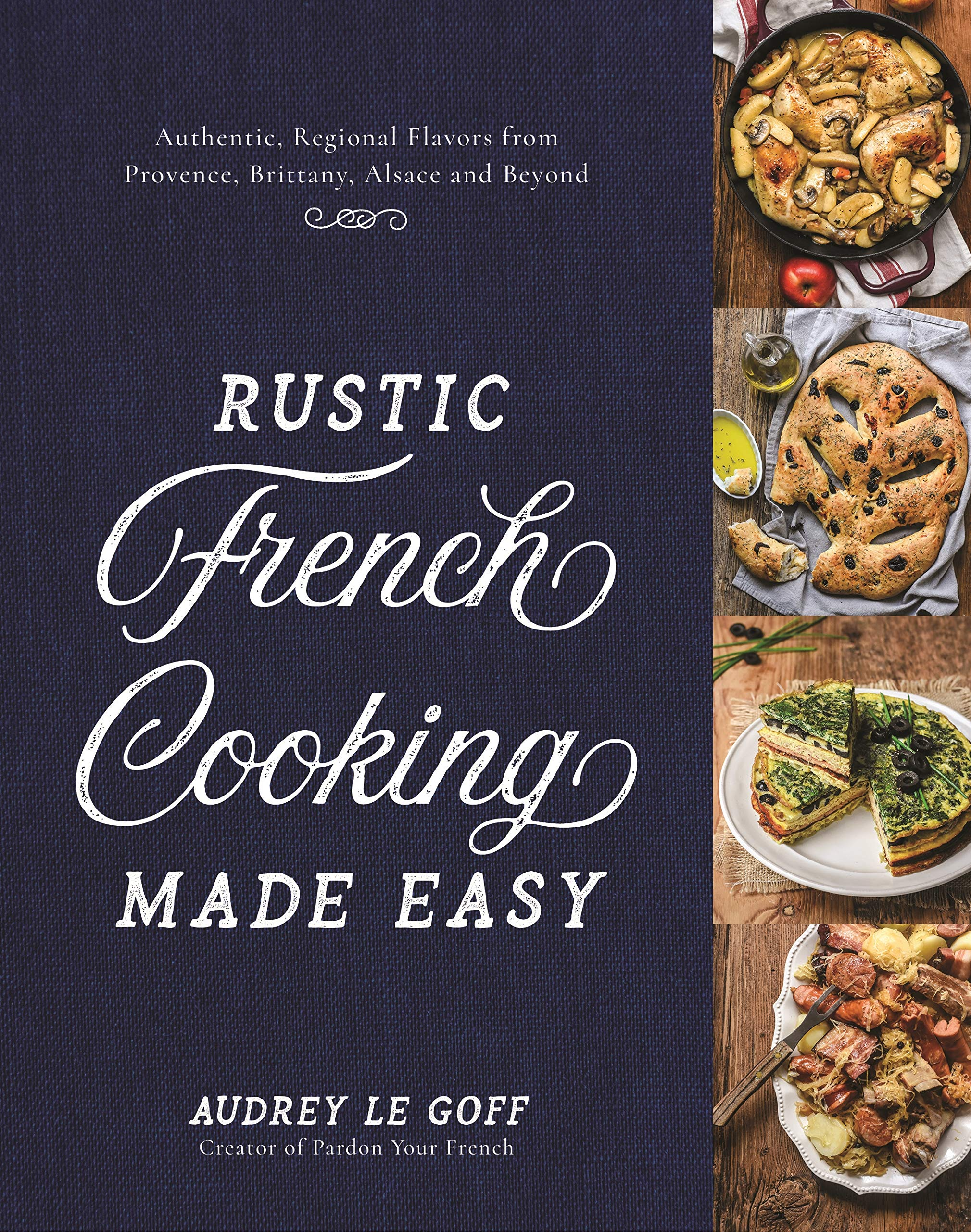 Fresh French Cuisine Recipe Book