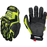 Mechanix Wear - Hi-Viz M-Pact XD Gloves (Large, Fluorescent Yellow)