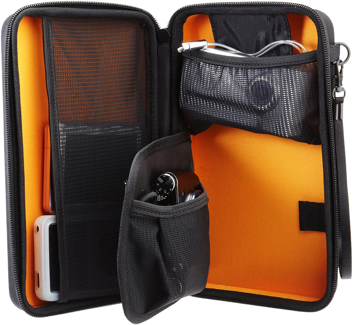 AmazonBasics Universal Travel Case for Small Electronics and Accessories for A Stress-Free Memorial Day Weekend Camping Trip