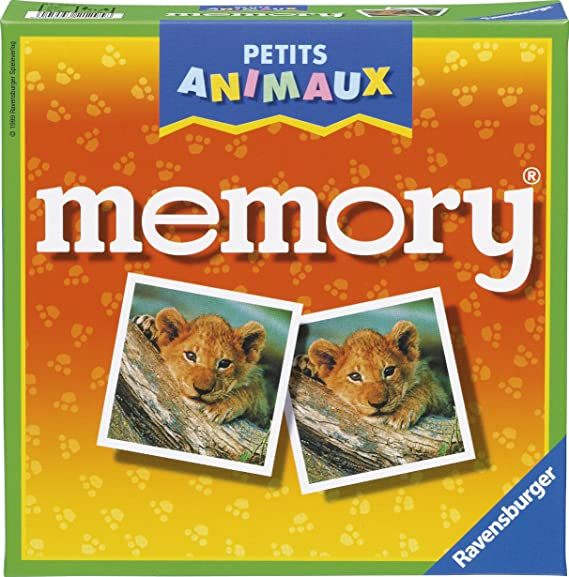 Ravensburger- Grand memory®- Petits animaux- Jeu Educatif- A partir de 4 ans- 21295
