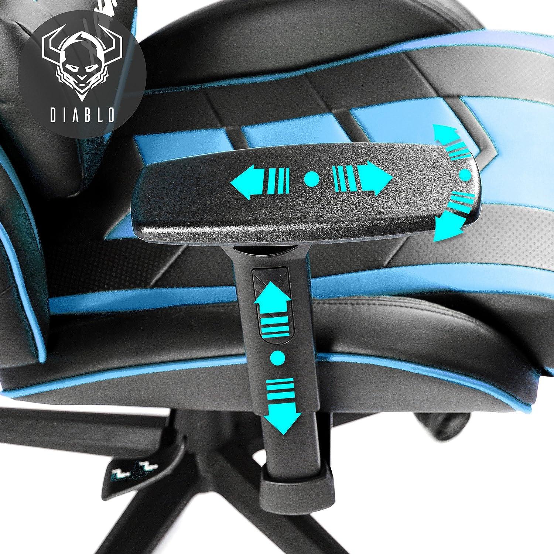 Diablo X Fighter Gaming Silla De Oficina Reposabrazos Ajustables  # Jof Muebles Para Oficina