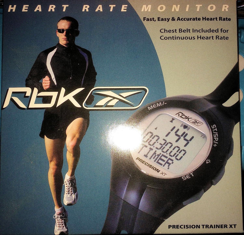 Amazon.com : Reebok Precision Trainer XT Heart-Rate Monitor ...