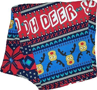 New No Boundaries Christmas Reindeer Fairisle Ankle leggings