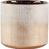 Urban Living Sapota 装饰桌(花袋、书末) 青铜色 Medium Planter AMZ17-40B