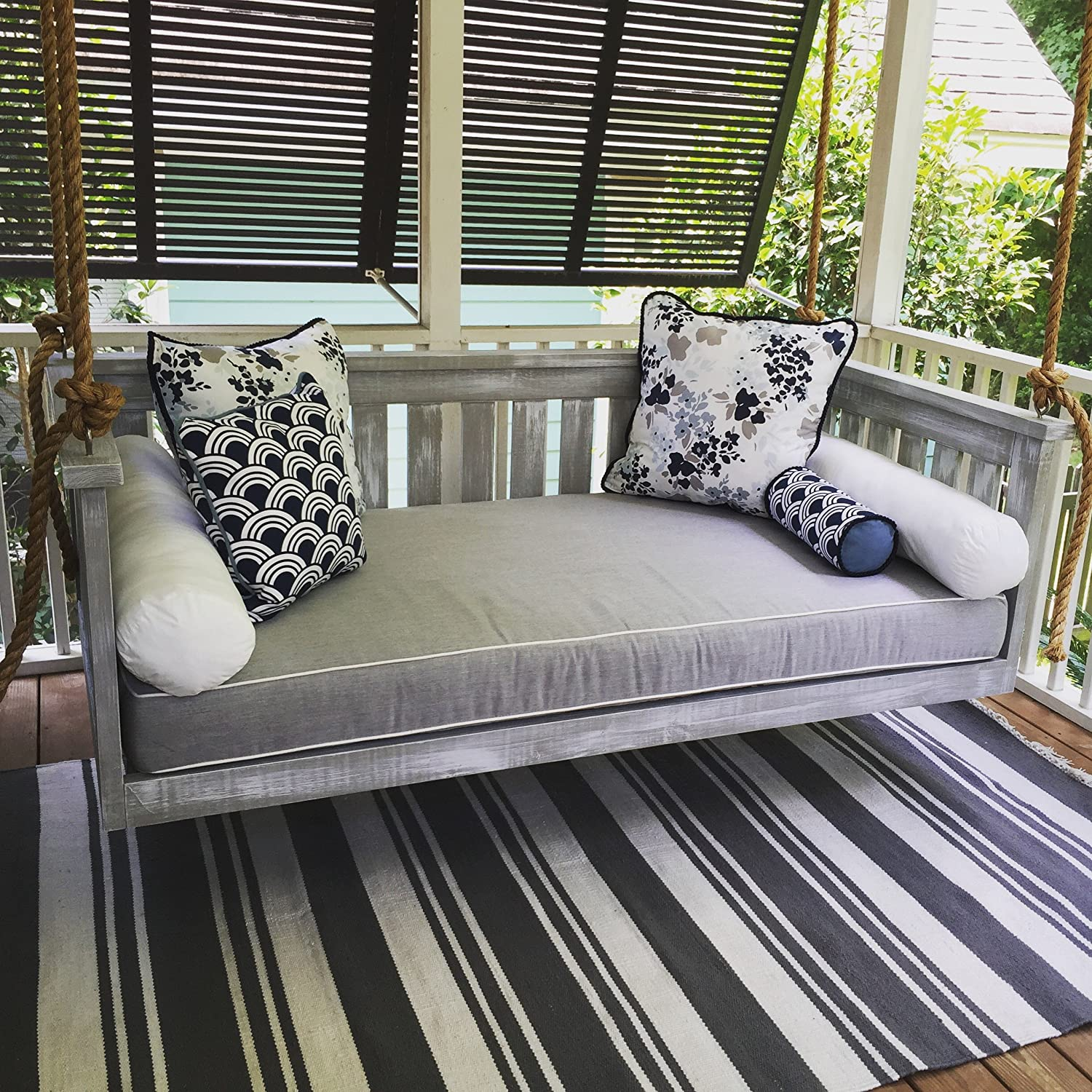 Amazoncom Porch Swing The Windermere Swing Bed