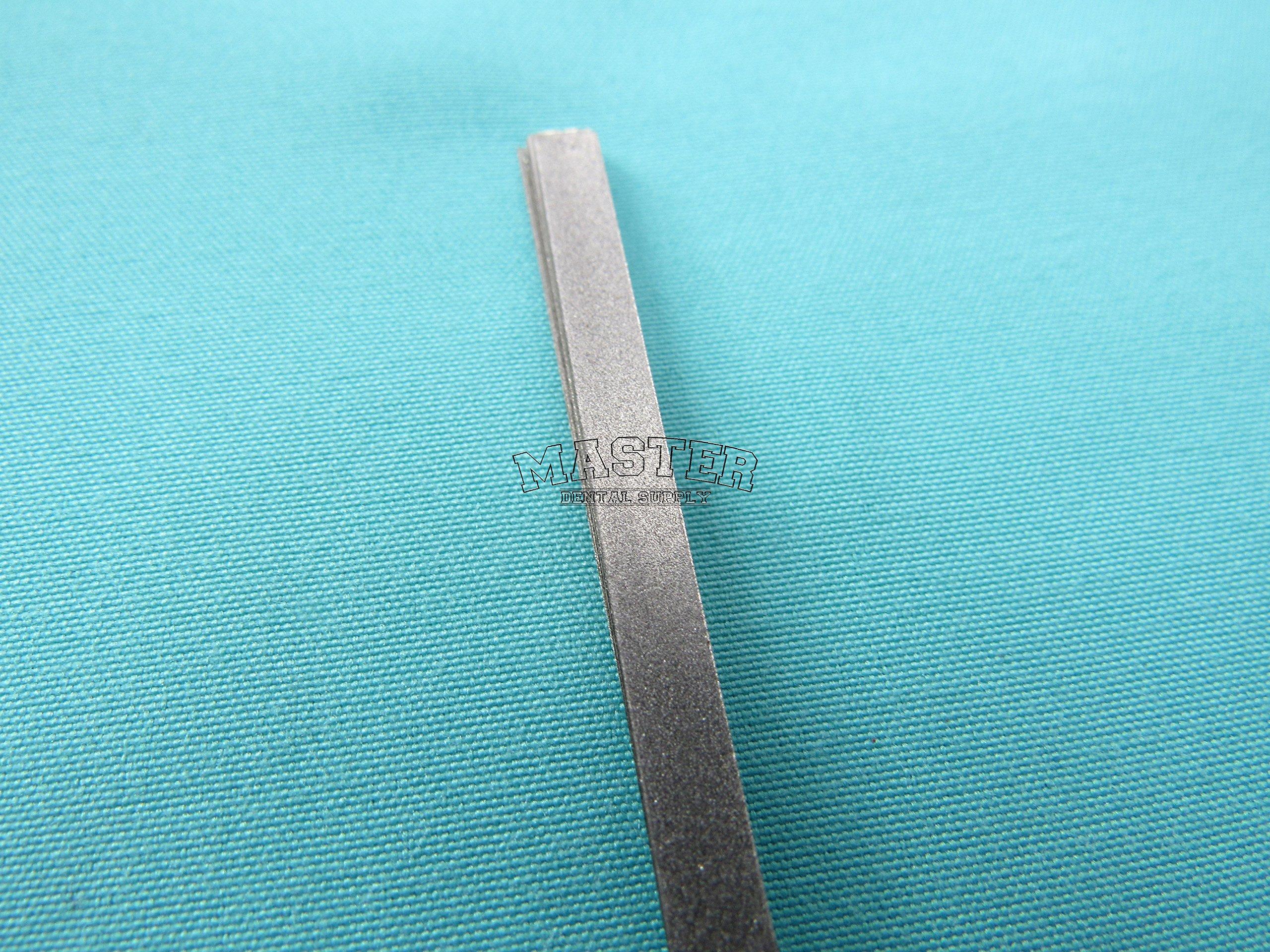 12 Dental Polishing and Finishing Strips Metal Single Sided