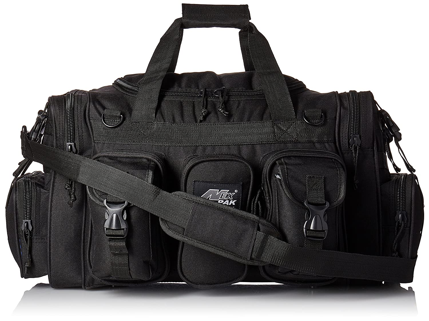 NEXPAK 55,9 cm 2600 Raptor Tactical Duffle Range Bag TF122 schwarz
