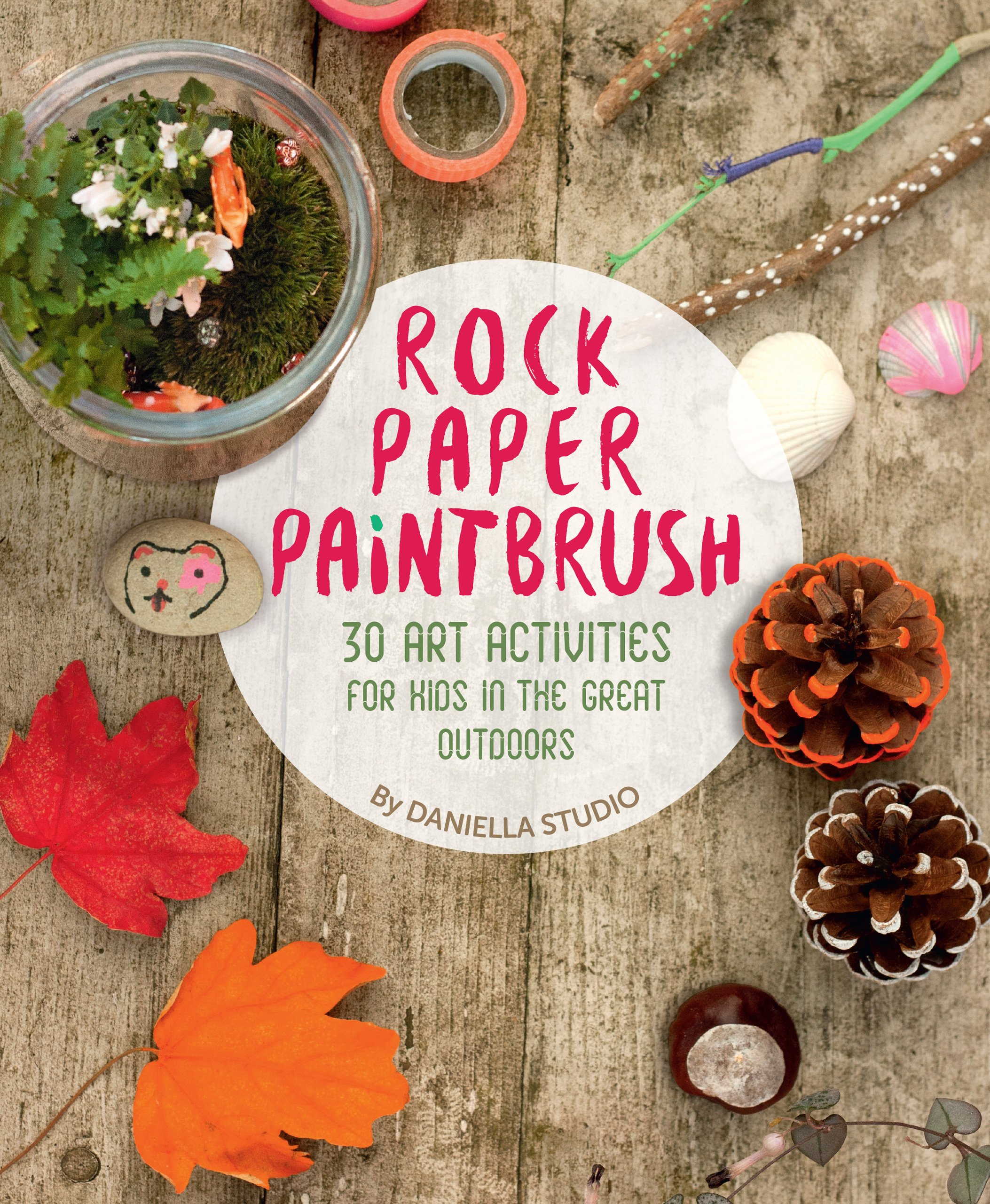 Rock, Paper, Paintbrush (30 Art Activities in the Great Outdoors) pdf epub