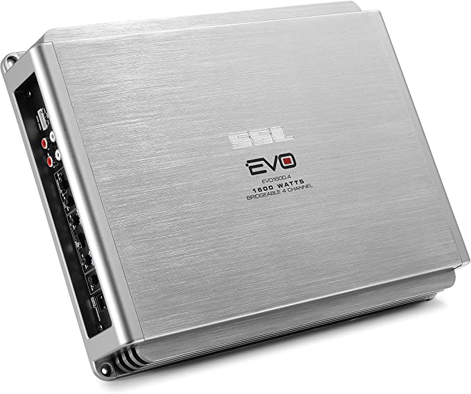 SSL EV2.1600 Evolution 1600W 2 Channel MOSFET Amplifier with Remote Subwoofer Level Control
