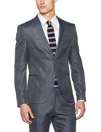 SELECTED HOMME Herren Sakko Shdone-Louame Blazer Sts, Grau (Medium Grey  Melange)