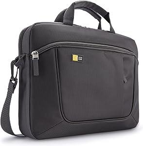 Case Logic 14.1-Inch Slim Case for Laptop/iPad (AUA-314ANTH),Anthracite (Grey)