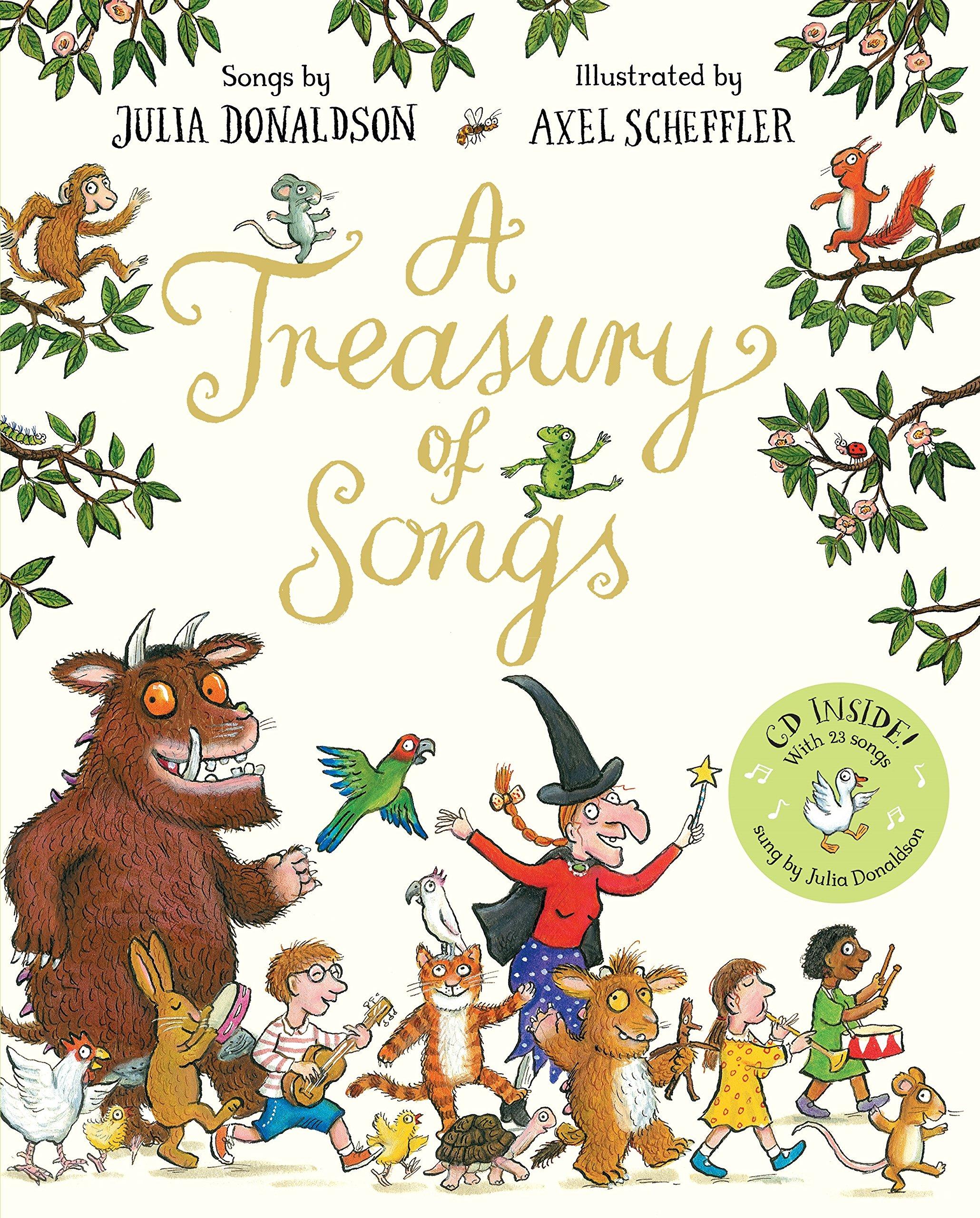 A Treasury Of Songs: Amazon.es: Donaldson, Julia, Donaldson, Julia ...