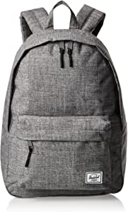 Herschel 10500-00919-Os Classic Unisex Casual Daypacks Backpack - Raven Crosshatch
