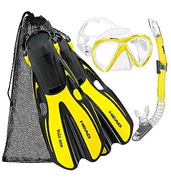 Amazon.com: Mares – Marlin Máscara Snorkel aletas conjunto ...