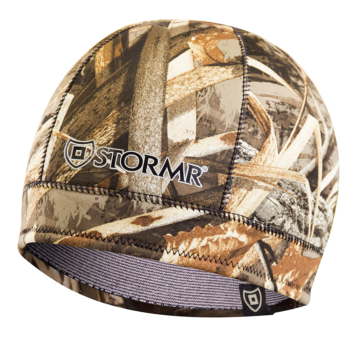 a15d1a18 Stormr Mens and Womens Waterproof Windproof 3 MM Premium Micro-Fleece Lined  Neoprene Beanie best used for Hunting, Waterfowlers, Winter, Snow, ...