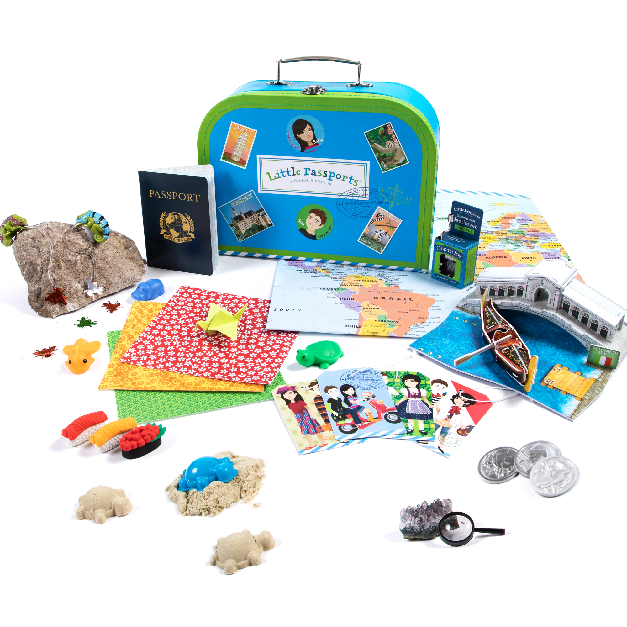 Little Passports World Edition - Subscription Box for Kids | Ages 6-10]()