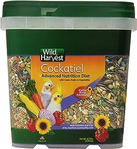 Wild Harvest Wh-83541 Wild Harvest Advanced Nutrition Diet For Cockatiels, 4.5-Pound