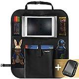 Organizador coche | Protector asiento coche ninos | Soporte para teléfono GRATIS | Bolsillo para el iPad | Organizador de juguetes