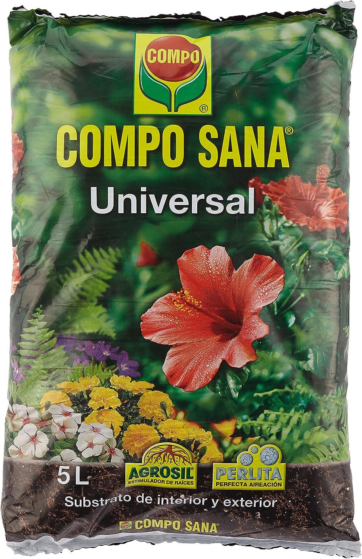 Compo Sana Substrato Universal de 5 L, Multicolor, 37 x 23 x 5.5 cm