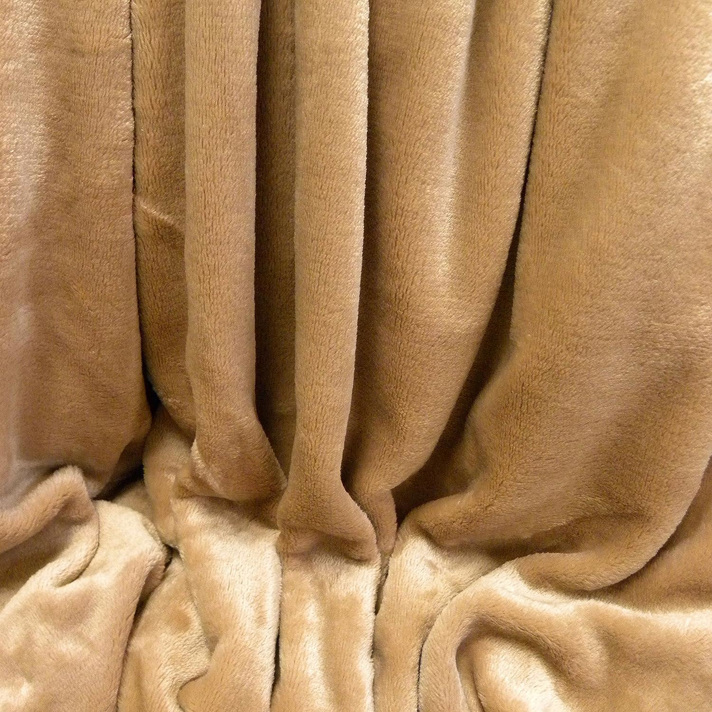 Amazon Berkshire VelvetLoft Polyester Blankets Ivory King Home Kitchen